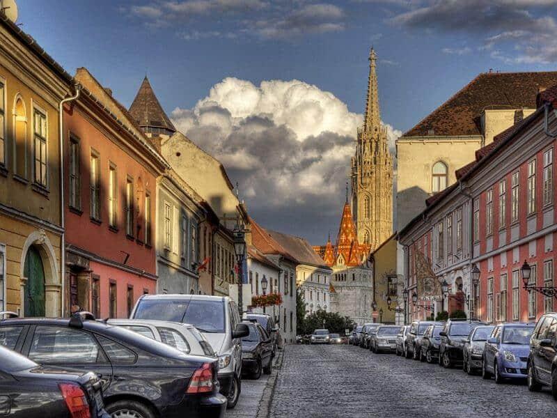 Budapest Castle District