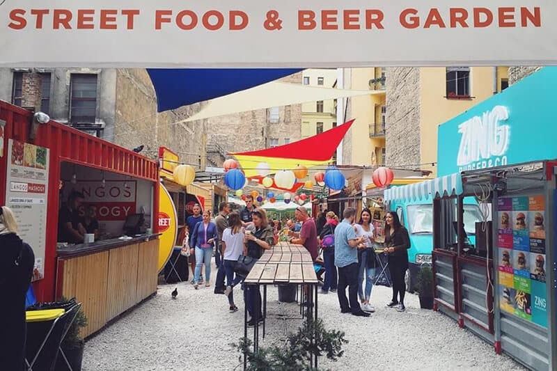 Karavan street food courtyard