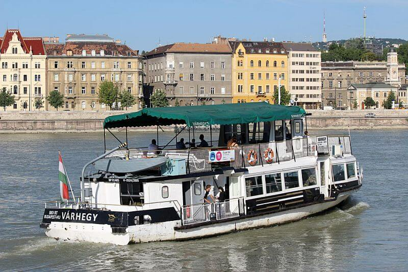 Public ferry Budapest