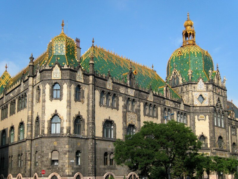 Museum of Applied Arts in Budapest