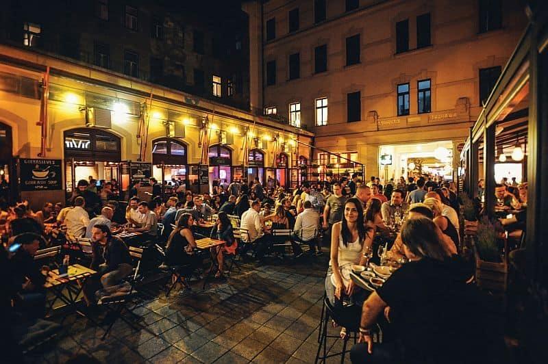 Gozsdu Courtyard Budapest