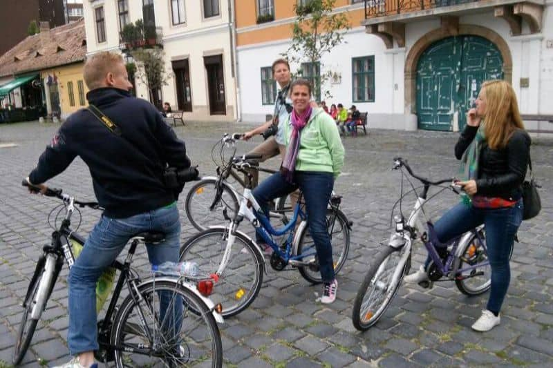 Bike tour in Budapest