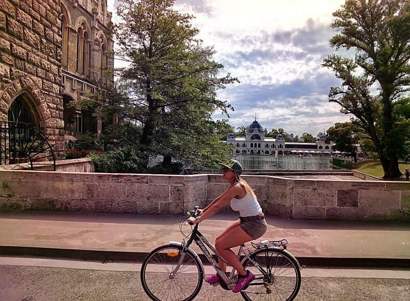 Budapest bike route