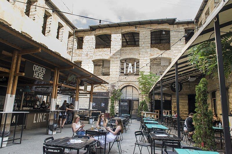 Ankert ruin bar Budapest