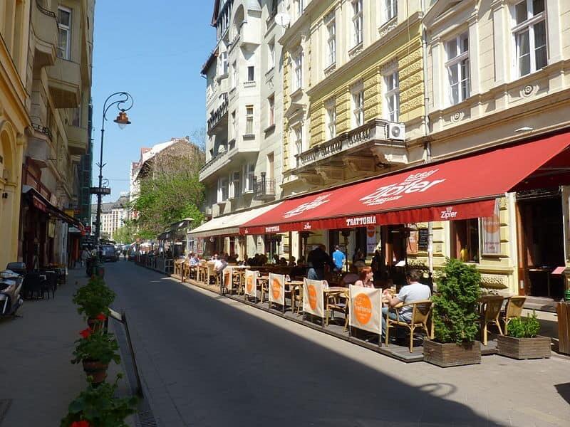 Ráday street