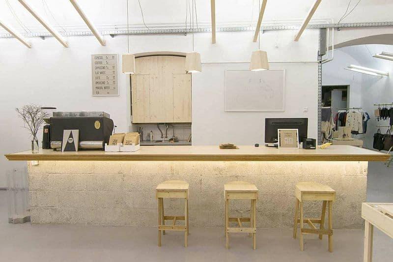 Printa design shop and coffee