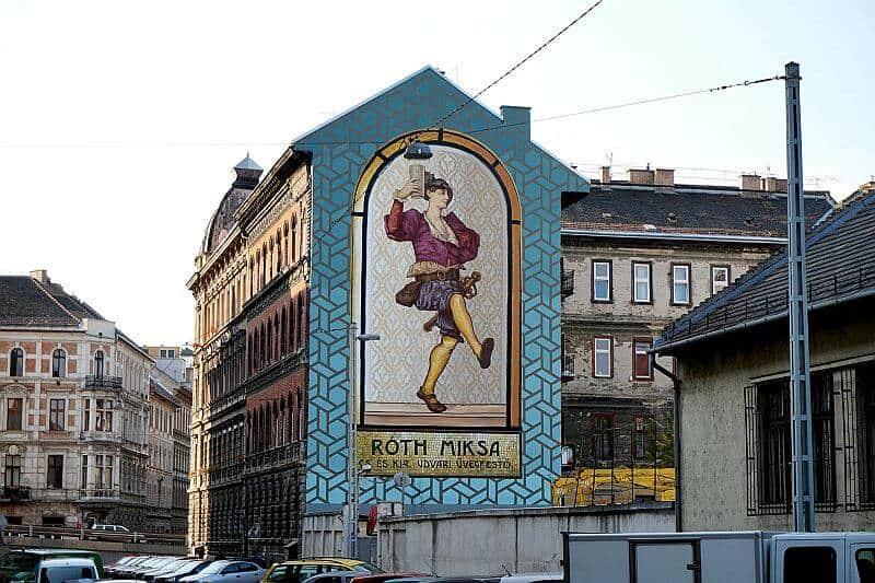 Miksa Roth mural