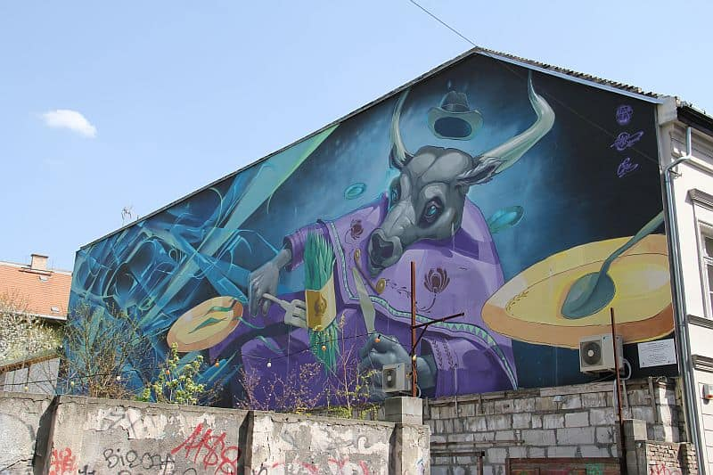 The gret wall mural by Fatheat