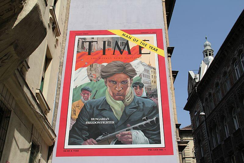 Man of the year mural