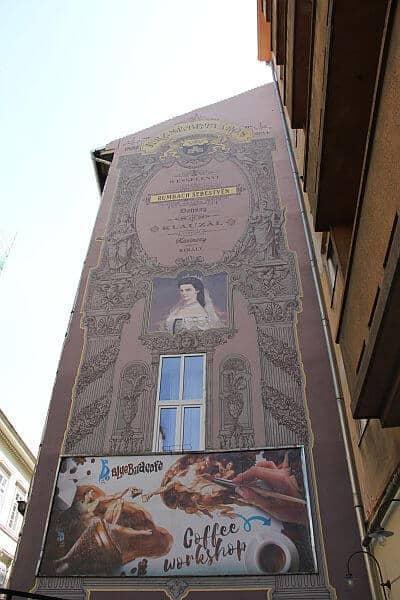 Sissy mural Budapest