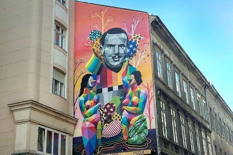 Street art tour Budapest