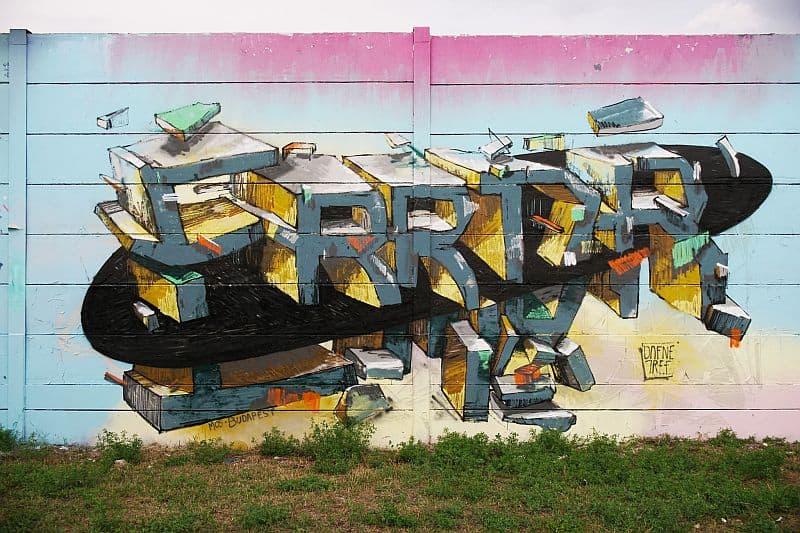 Graffiti art Szemeretelep