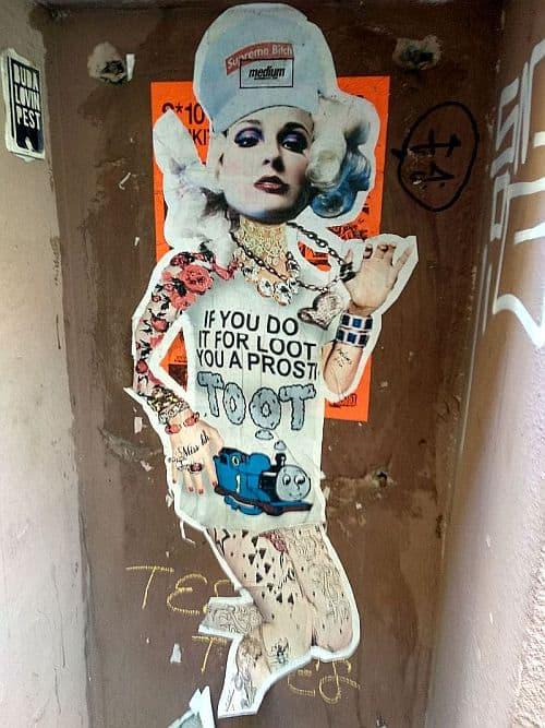 Stencil art by Miss KK