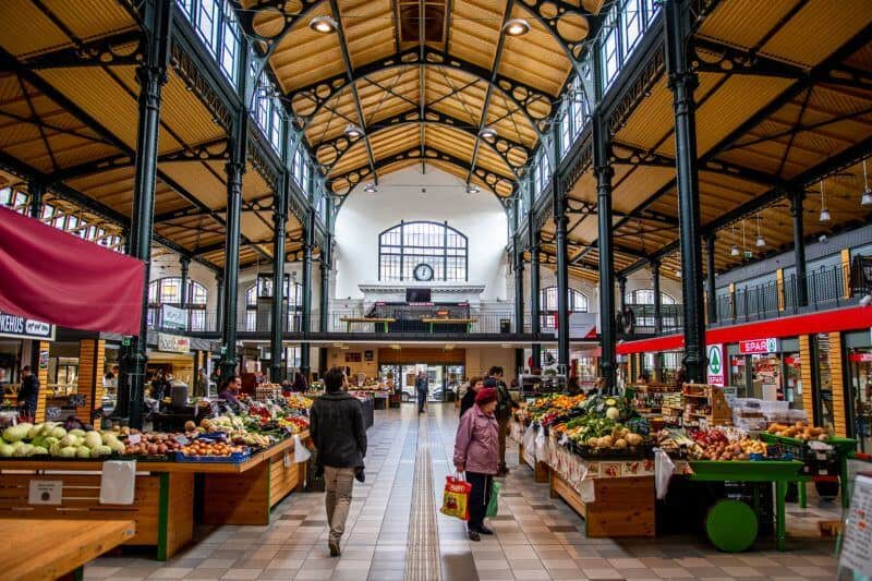 Rákózi Square Market Hall