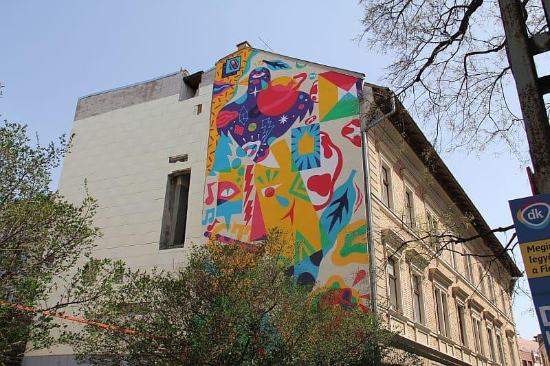 Mural Akacorleone in Budapest