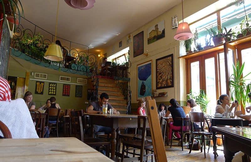 Csiga Cafe Budapest