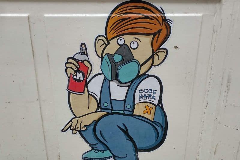 0036Mark Hungarian street artist