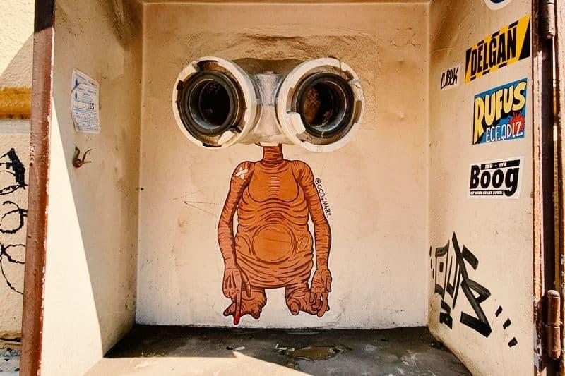 Street art by 0036Mark
