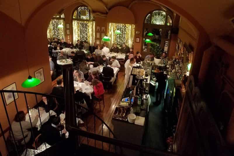 Cafe Kor restaurant Budapest
