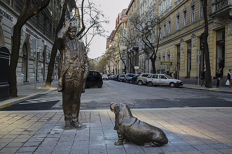 Falk Miksa Street: Budapest's Antique Row