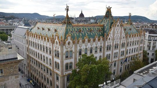 The Postal Savings Bank Budapest - Art Nouveau building