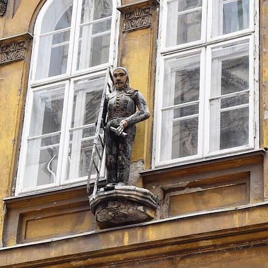 The Devicis Family Sign Bródy Sándor street Budapest