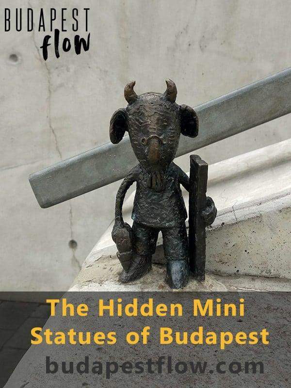 Hidden mini statue of Budapest - Kolodko statutes
