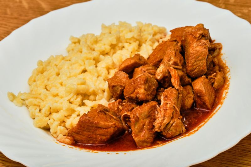 Hungarian meat stew