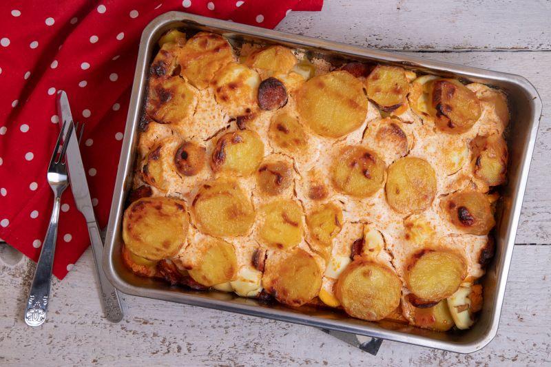 Layered potato
